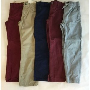 Boys 8/9 Pants Lot of 5 Gap Urban Pipeline Khaki